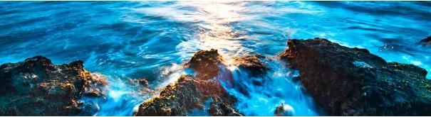 Скинали 'Волны, скалистый берег'