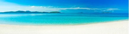 Скинали 'Белоснежный тропический пляж'