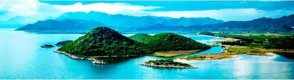 Скинали 'Зеленые тропические острова'