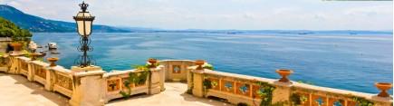 Скинали 'Балкон с видом на море'
