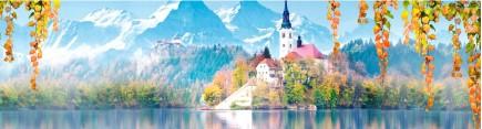 Скинали 'Озеро в Альпах'