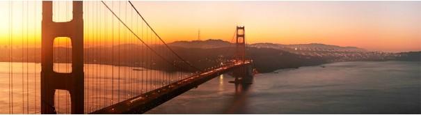 Скинали 'Золотой закат в Сан Франциско'