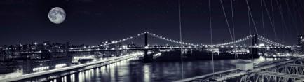 Большая Луна над Нью Йорком