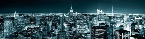 Скинали 'Ночная панорама Нью Йорка'