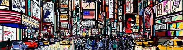 Скинали 'Уолл-стрит. Графика'