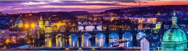 Скинали 'Ночная панорама Праги'