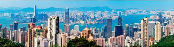Скинали 'Вид с Пика Виктория. Гонконг'