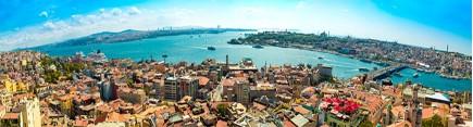 Скинали 'Стамбул. Вид с Галаты'