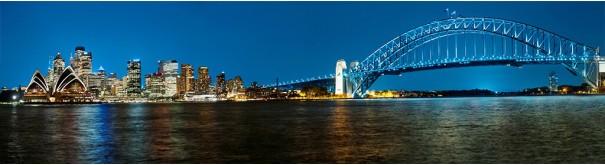 Скинали 'Вечер над бухтой Сиднея'