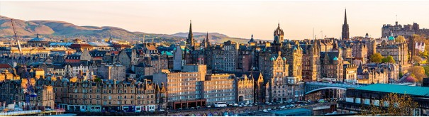 Скинали 'Панорама Эдинбурга'