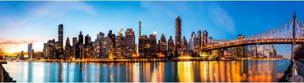 Скинали 'Вид на вечерний Манхеттен'