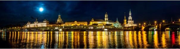Скинали 'Ночная набережная Дрездена'