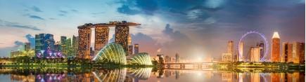 Скинали 'Восход над Сингапуром'
