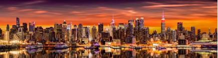Скинали 'Закат над Нью Йорком'