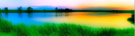 Скинали 'Раннее утро. Озеро. Лето'