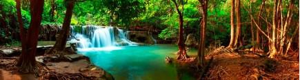 Скинали 'Лесной водопад. Тайланд'