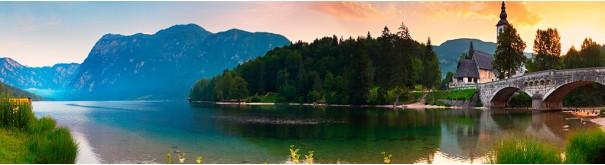 Скинали 'Замок над озером. Швейцария'