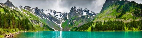 Скинали 'Горное озеро. Алтай'