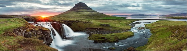 Скинали 'Долина водопадов. Исландия'