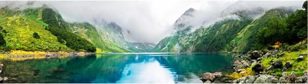 Скинали 'Зеленое озеро. Черногория'