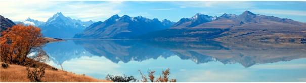 Скинали 'Горное озеро. Новая Зеландия'