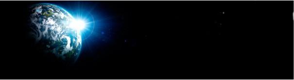Скинали 'Голубая планета в бескрайнем космосе'