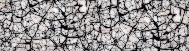 Скинали 'Черно-белая текстура мрамора'