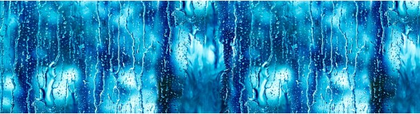 Скинали 'Капли дождя на стекле'