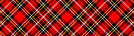 Скинали 'Шотландский орнамент'