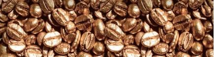 Скинали 'Кофейные зерна из золота'