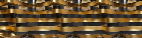 Скинали 'Золотые фолны 3D'