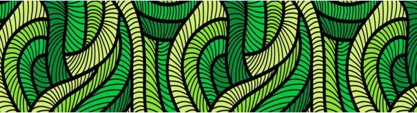 Скинали 'Зеленый узор'