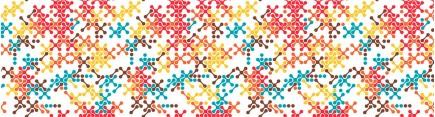 Скинали 'Пиксельный узор'