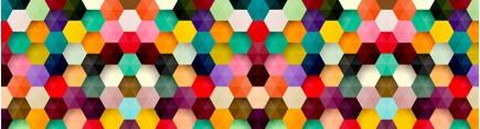 Скинали 'Разноцветная мозаика'