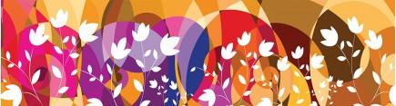 Абстракция с цветами