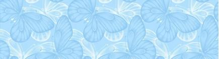 Скинали 'Голубые бабочки'