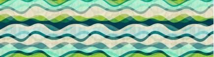 Скинали 'Цветные волны'