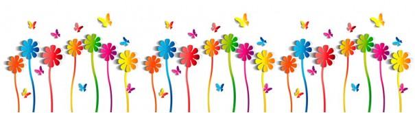 Скинали 'Цветы и бабочки'