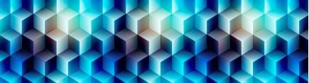Скинали 'Узор 3D кубики'