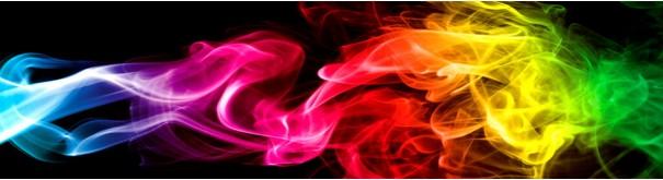 Скинали 'Разноцветный дым'