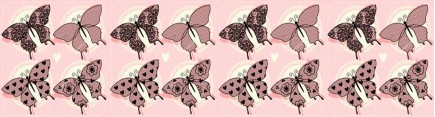Скинали 'Узор из бабочек'