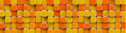 Скинали 'Оранжевая мозаика'