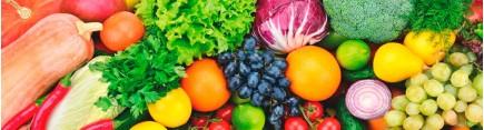 Скинали 'Овощи и фрукты'