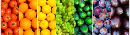 Скинали 'Радужные овощи'