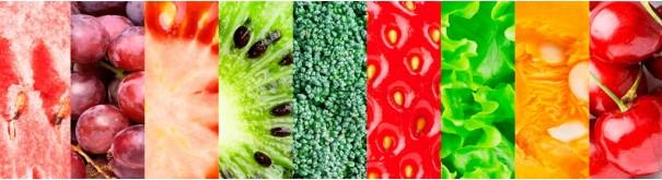 Скинали 'Радужные фрукты'