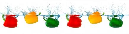 Скинали 'Разноцветные перцы'
