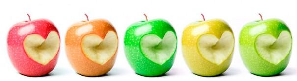 Скинали 'Разноцветные яблоки'