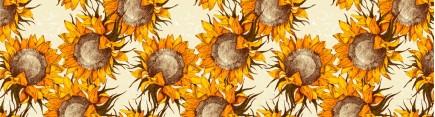 Скинали 'Узор с цветами подсолнуха'