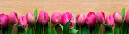 Скинали 'Розовые тюльпаны'