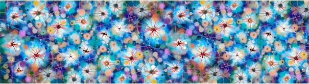 Скинали 'Цветочная акварель'